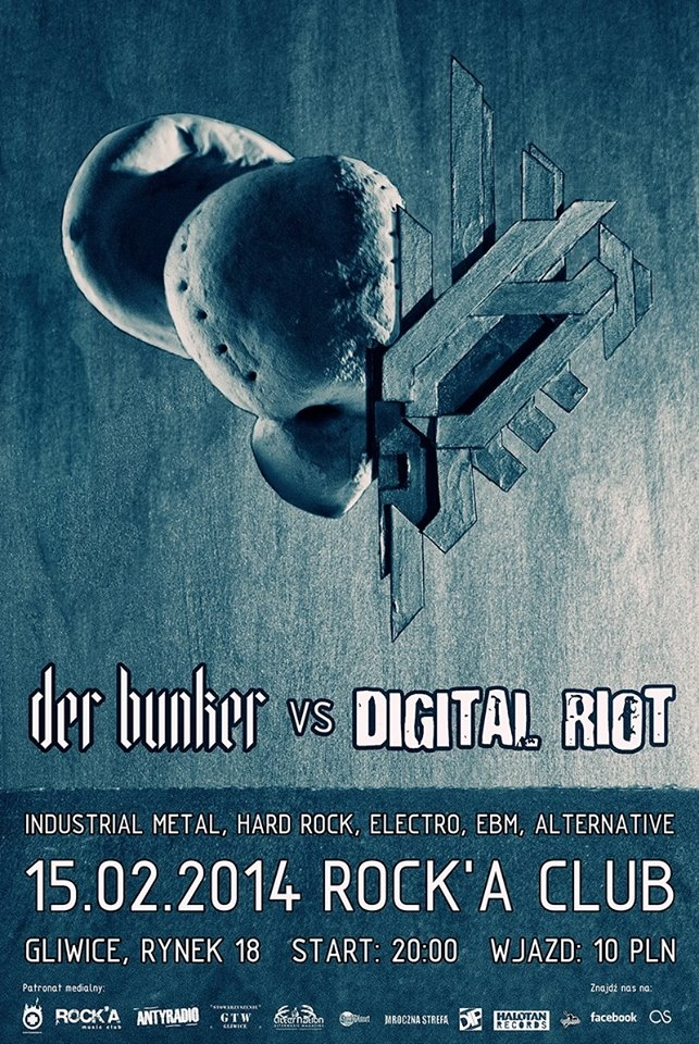 Der Bunker vs Digital Riot