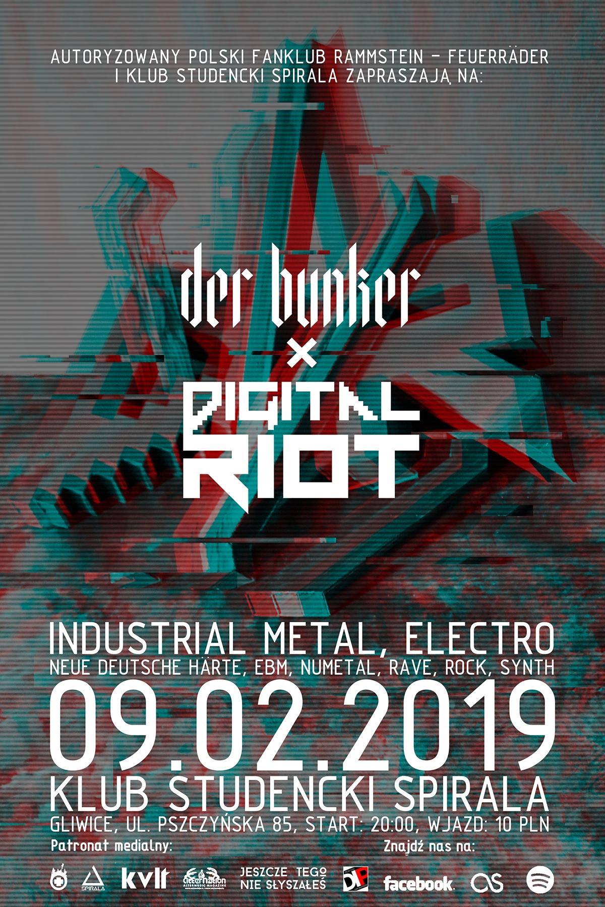 Der Bunker X Digital Riot